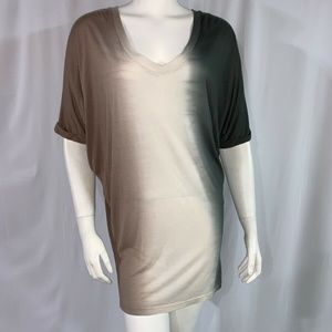 Young Fabulous And Broke Womens Shirt Ombre Size S